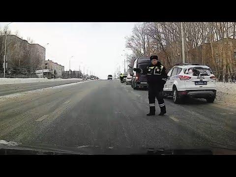 Как работают ДПС. Подставной пешеход. г Альметьевск