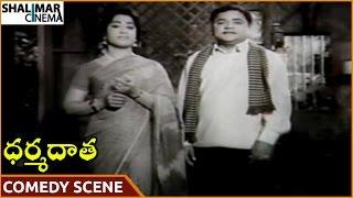 Dharma Daata Movie || Padmanabham & Geethanjali Superb Comedy Scene || Kanchana || Shalimarcinema