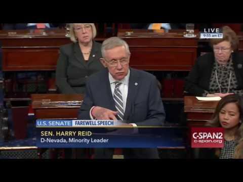 Harry Reid Senate Farewell Speech 12/8/16
