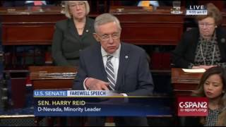 Harry Reid Senate Farewell Speech 12/8/16