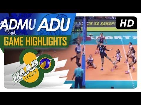 UAAP 80 WV: ADMU vs. AdU | Game Highlights | March 25, 2018