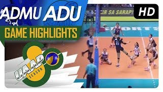 UAAP 80 WV: ADMU vs. AdU | Game Highlights | March 25, 2018
