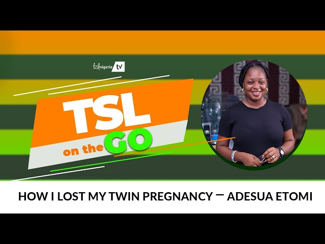 How I lost my twin pregnancy ― Adesua Etomi