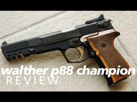 Quickies: Walther P88 Champion - the finest Walther ever made?