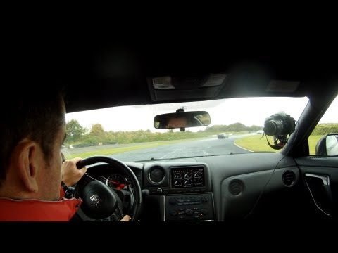 Nissan GTR Review on the track at Mondello