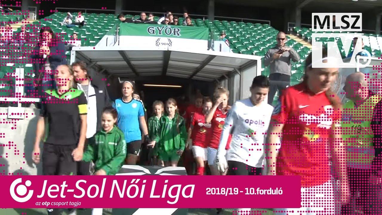 ETO FC Győr - DVTK | 2-2 | JET-SOL Liga | 10. forduló | MLSZTV