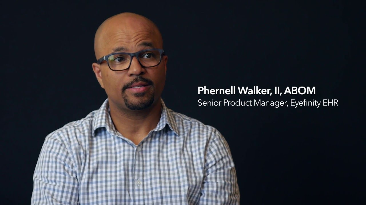 Download Phernell Walker talks about when he first knew that he wanted to be an optician