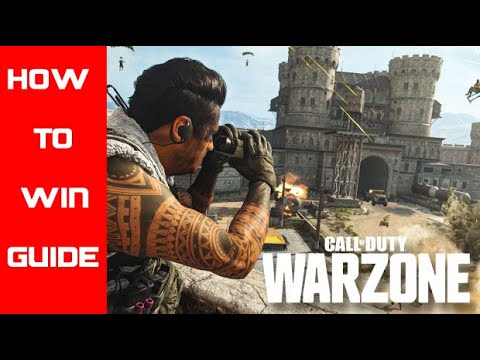 HOW TO WIN CALL OF DUTY WARZONE - [CRUDEBOYS GUIDE] *PARODY*