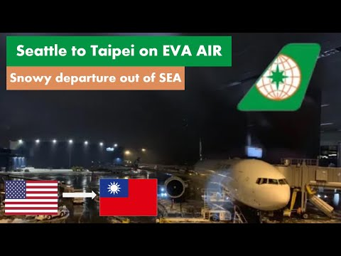 Flight Report | EVA AIR | Boeing 777 | Seattle To Taipei | Economy