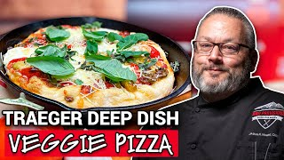 Traeger Veggie Deep Dish Pizza - Ace Hardware