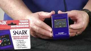 Snark Touch Screen Metronome Demo Video