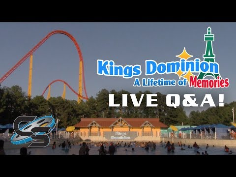 Live Q&A on Kings Dominion: A Lifetime of Memories (With Live Calls!)