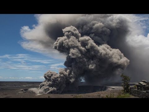 Hawaii's Kilauea volcano explodes, spewing ash in air
