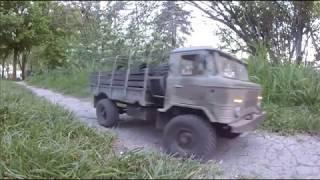 TRUCK GAZ 66   RГ©alisation  RC GARAGE 75