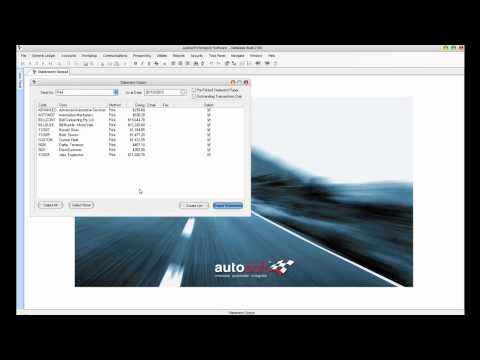 Demonstration - Workshop Software. Auto Repair Software. Autosoft Automotive Software
