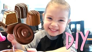 Making Chocolate Treats! - March 06, 2017 -  ItsJudysLife Vlogs
