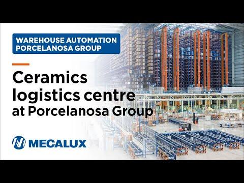 5 fully automated warehouses make up Porcelanosa massive logistics complex