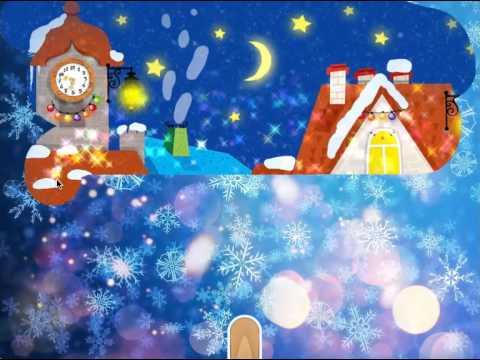Disegni natalizi da colorare youtube for Disegni di lupi da stampare