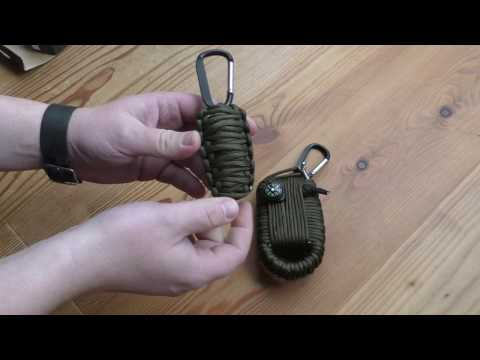 Survival Kit aus Paracord