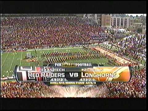 Texas Tech vs Texas pre-game 2011 (1of 2)