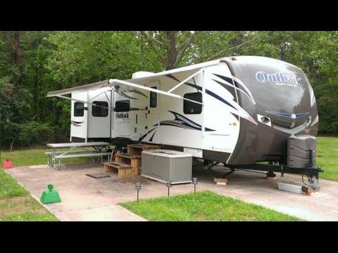 Merveilleux 2013 Keystone Outback 298RE 35ft Travel Trailer, 3 Slides, Upgraded  Furniture!