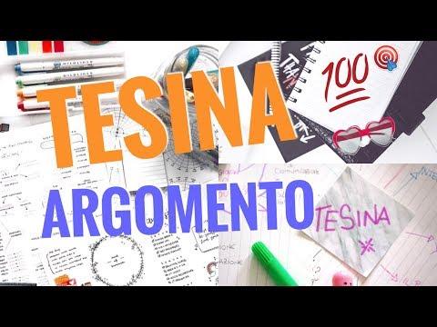 TESINA ORIGINALE! COME SCEGLIERE L'ARGOMENTO