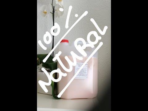 Detergente da roupa natural e ecológico - Alma dFlor