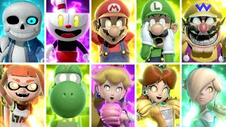Super Smash Bros Ultimate - All Final Smashes (All DLC Included)