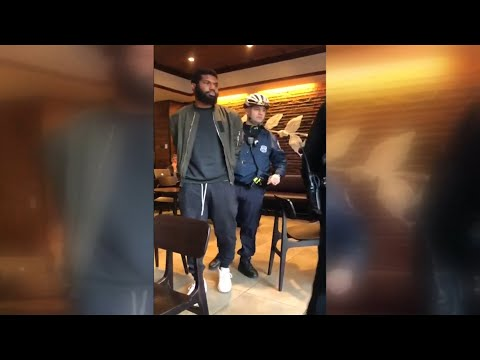 Social media video shows arrests of black men at Philadelphia Starbucks
