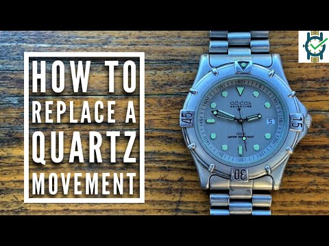 How To Change A Quartz Watch Movement