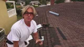 How to Install a pipe flashing  on Asphalt Shingle Roof   Hermosa  Beach Roofer