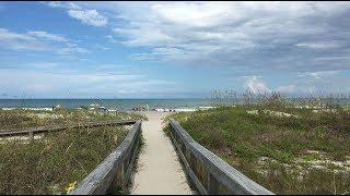 Cocoa Beach Tulip Avenue Beach Dune Crossover in 4k Ultra HD
