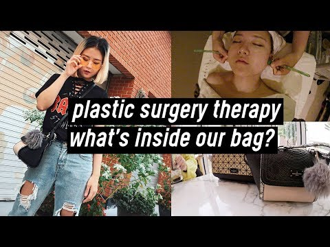 Plastic Surgery Therapy, Realistic What's Inside Our Bags (a rock lol) | DTV #48