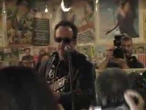 Elvis Costello at Village Music: One's Too Many