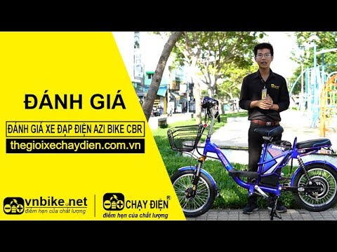 Đánh giá xe đạp điện Azi Bike CBR 18inh bánh tăm