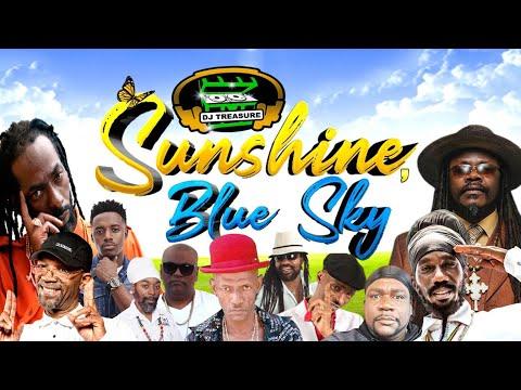 DJ Treasure - SUNSHINE BLUE SKY (Reggae Mix 2021) Buju Banton, Beres Hammond, Horace Martin, Sanchez