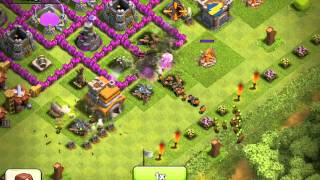 Clash of Clans - 80 wall breaker attack