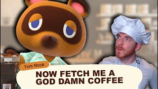 Animal Crossing, but explained with coffee.