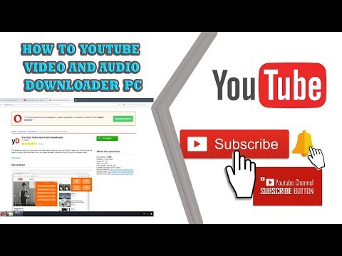 YOUTUBE VIDEO AND AUDIO DOWNLOADER PC