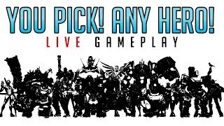 YOU pick my hero! #11 - Overwatch Gameplay Live thumbnail