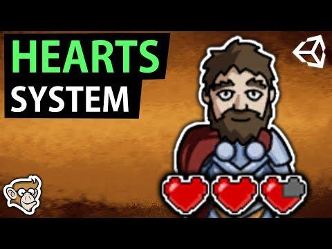 Heart Health System like Legend of Zelda (Unity Tutorial) thumbnail
