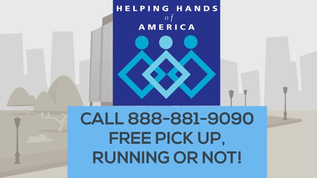 Helping Hands Of America >> Donate Your Car To Helping Hands Of America Youtube