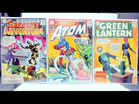 COMIC BOOK HAUL 44 (SILVER AGE DC KEYS AND HOT BOOKS!)