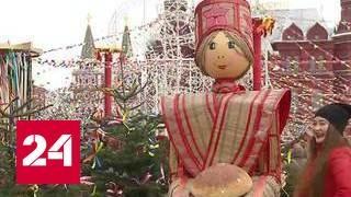 Масленица в Москве: огненное шоу с блинным угощением
