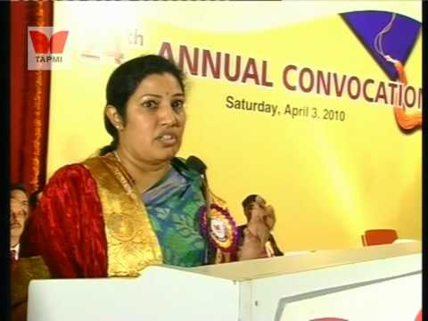 Conovocation-2010 Ms. Purandeswari - Part #1/2