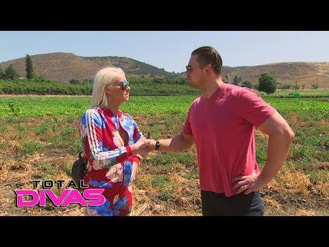 Maryse challenges The Miz to go vegetarian: Total Divas Preview Clip, Dec. 20, 2017