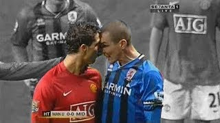 Cristiano Ronaldo ● AGGRESSIVE Fights & Angry Moments (Manchester United Days)
