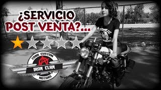 """REVIEW"" IRON CLAN MÉXICO / LEGEND 250CC ""TIPO CAFE RACER  PARTE 2"