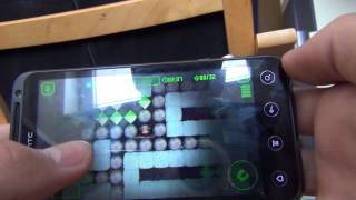 Android Game Demonstration: Boulder Dash XL by Herocraft