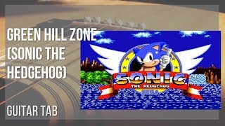 EASY Guitar Tab: How to play Green Hill Zone (Sonic the Hedgehog) by Masato Nakamura